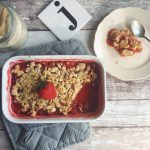 CRUMBLE VEGANO ALLE FRAGOLE